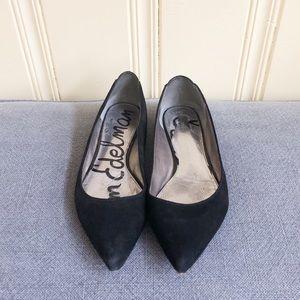 "7a7575fcd6d528 Sam Edelman Shoes - Sam Edelman ""Colleen"" Suede Ballet Flats"